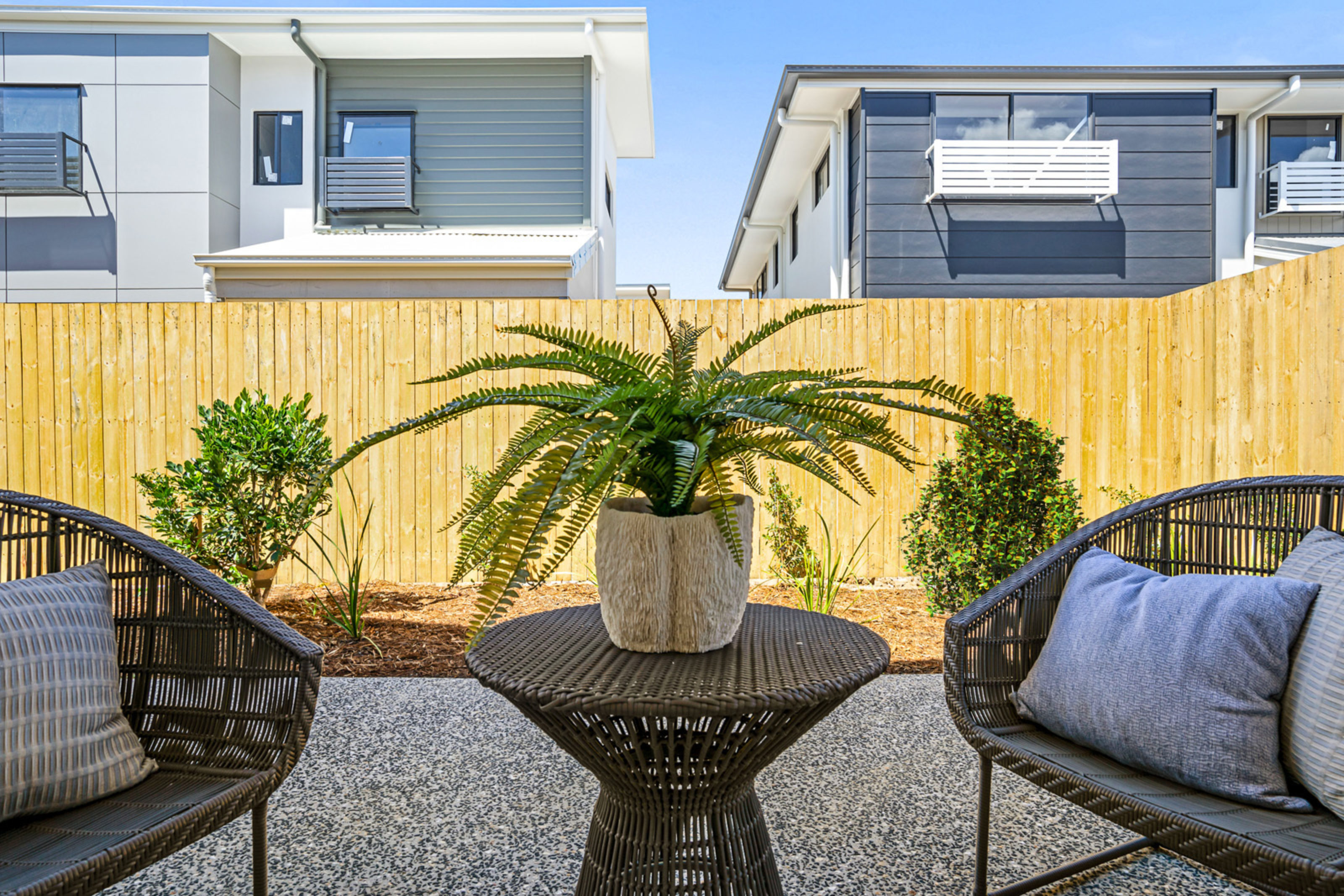 Ausbuild Townhouse Courtyard